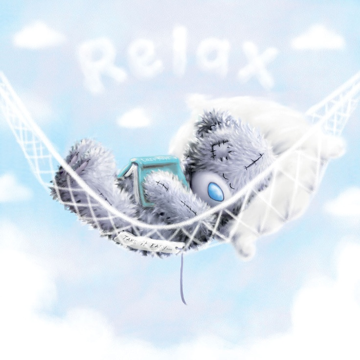 Tatty Teddy Me to You bear - relax