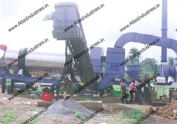 Asphalt batch mixing and continuous parallel drum mix plants in mobile, modular and static configurations with output capacity ranging from 80tph to 120tph