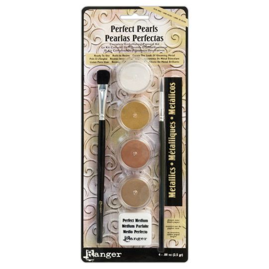 Give an instant iridescent shine to your art and craft with the Perfect Pearls™ Pigment Powder i...