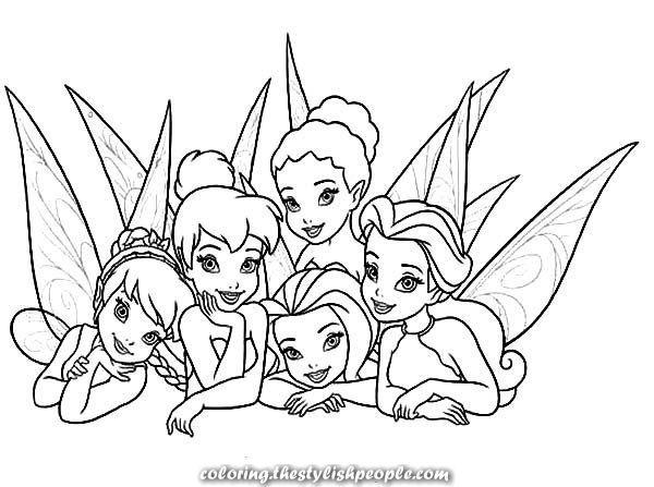 coloring pages fairies | Disney Fairies Coloring Pages Silvermist ... | 447x600