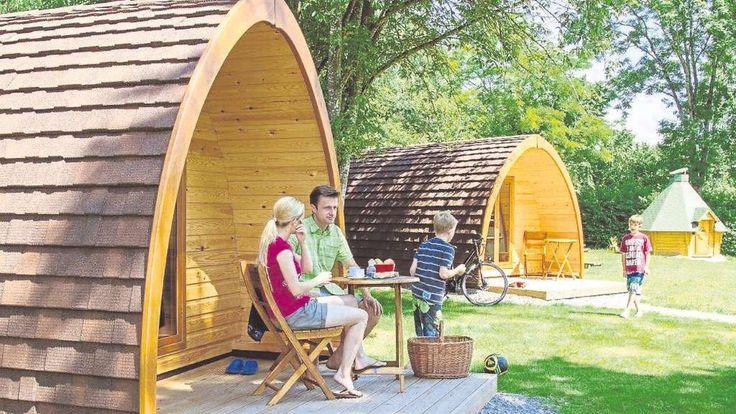 Auch im Schongauer Land: Campen im Holzfass