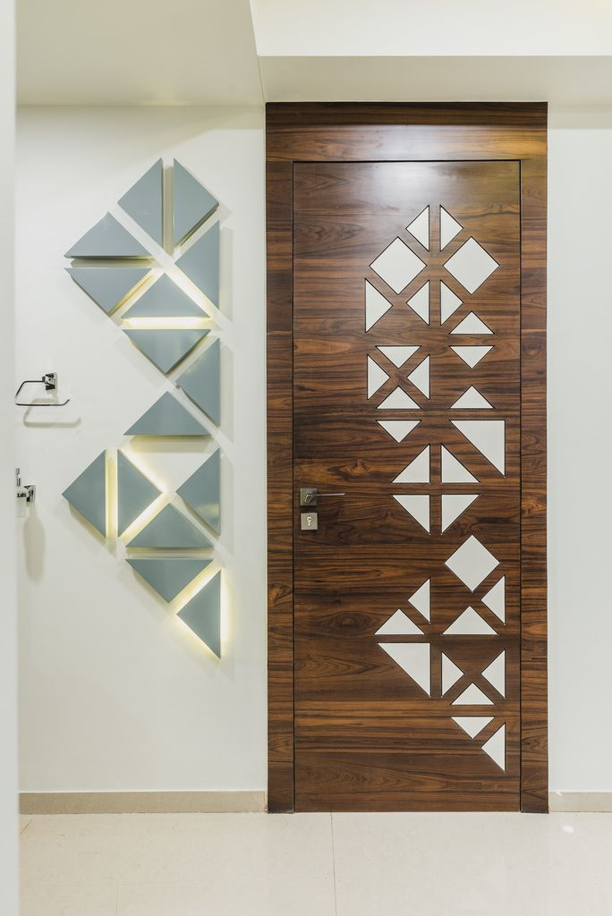 अद्वैतम् Pavan Infratech Interior Design Room Door