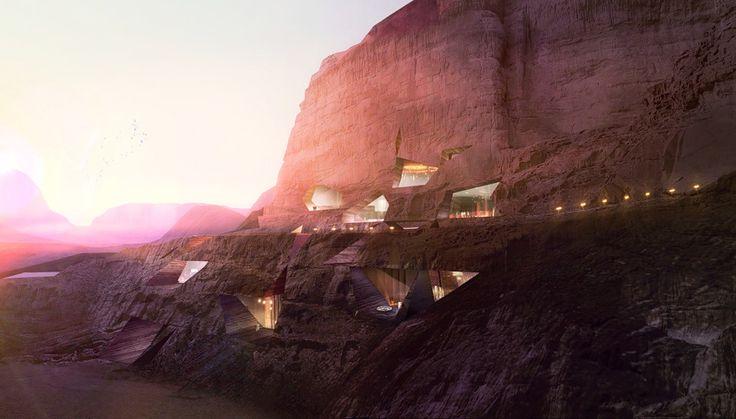 Wadi Rum Desert Lodges Visuals by LUXIGON
