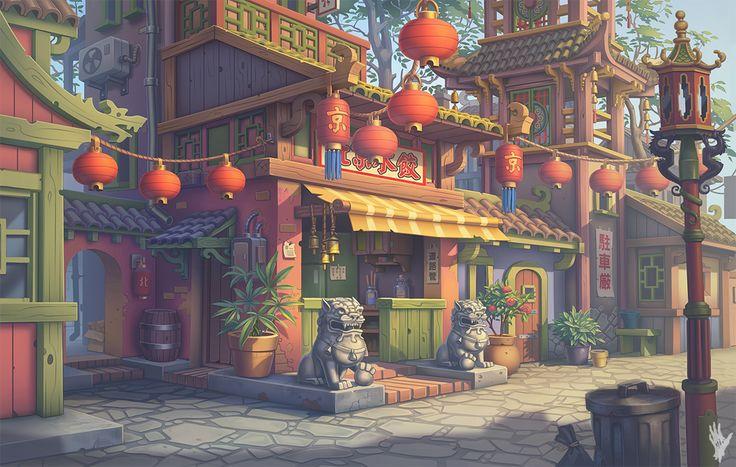 China_Town by AlexShatohin.deviantart.com on @deviantART