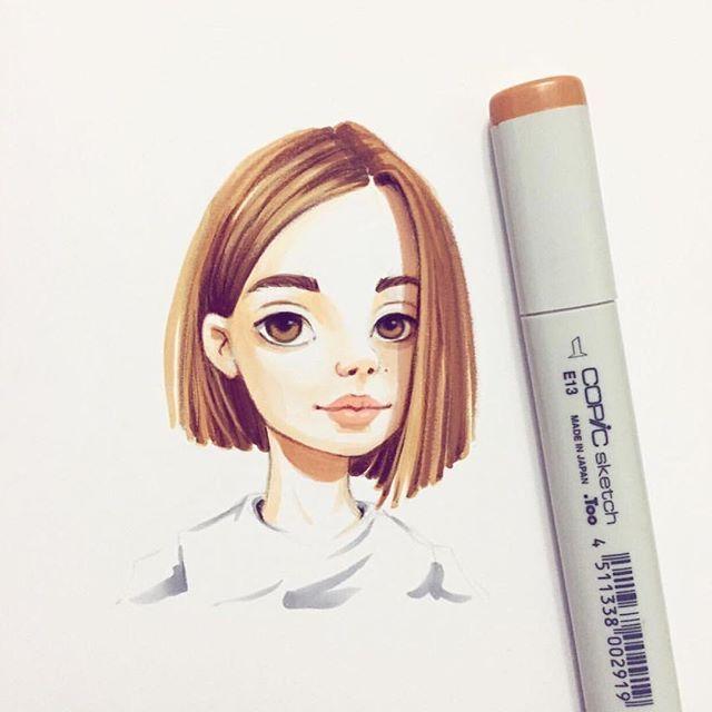 Amazing character design by @lera_kiryakova