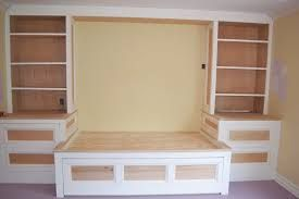 Image result for built in bed