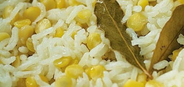 طريقة الرز بالعدس وفوائده للجسم Food Vegetables Rice