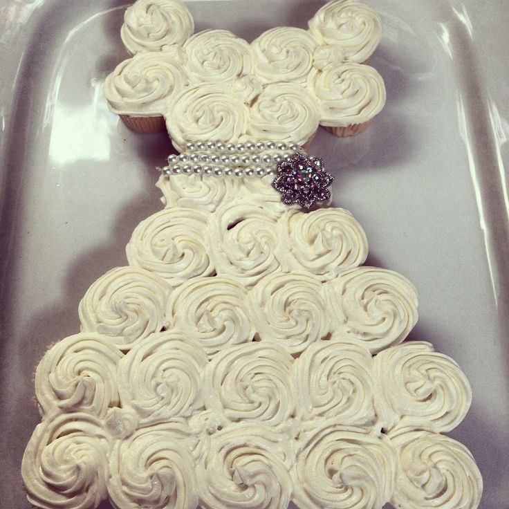 Mini wedding dress cakes pictures