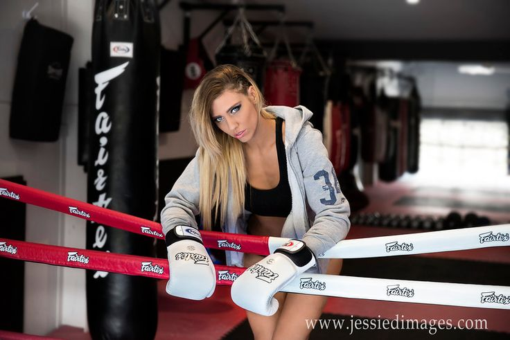 Jessie D Images - Fitness Photography - Boxing ring  Image from todays session at BAY MMA gym of the gorgrous Monica - Figure competitor / fitness model