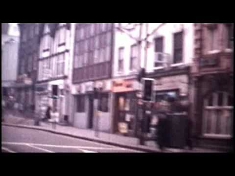 This footage of Nottingham was shot in 1974. How old fashioned does everything look!