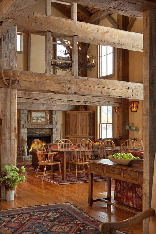 Mountain vacation home in Jackson, Wyoming, made f…