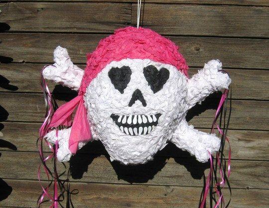 pirate girl pinata
