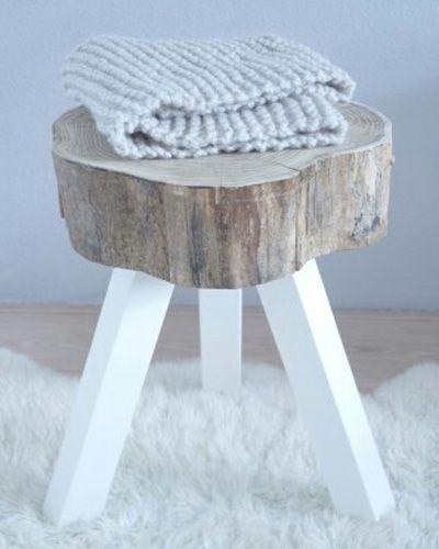 Boomstammen in huis - Haal de natuur in je interieur met deze toffe DIY.