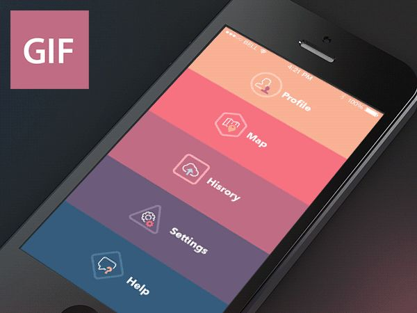 GIF Aimation by Sergey Valiukh, via Behance