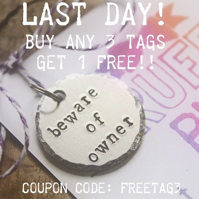 72 best rudedog dog tags images on pinterest hand stamped dog thrufftypupsy receive 1250 off of your order with coupon code freetag3 covers price of a 4th tag or a bow tie some of the shipping charge fandeluxe Images