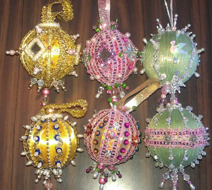Beautiful Christmas Ornaments 98 best beaded christmas ornaments inspiration images on pinterest