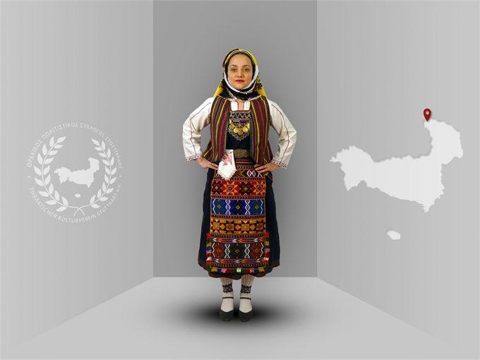 Thrace, Petrota (Evros), traditional costume  -Thracian culture club Stuttgart-  www.thraki.de
