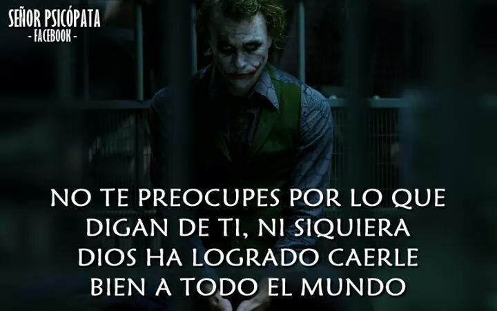 Fraces Del Joker Amor Frases Inspiradoras Frases
