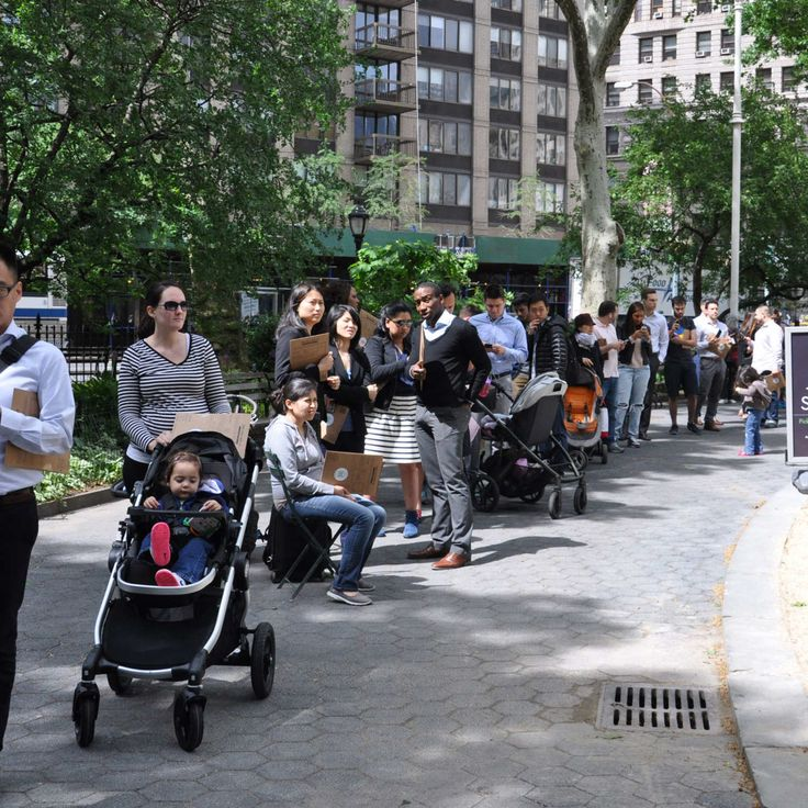 This Was the Scene at Todays Shake Shack Reopening Party
