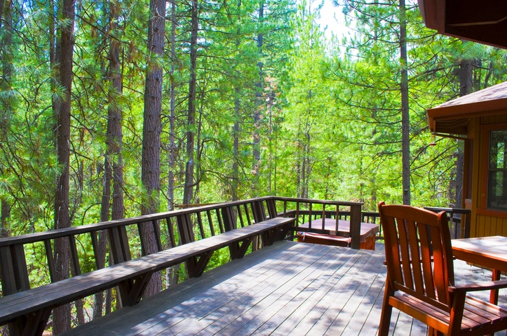 """Retreat. Relax. Renew. Rejuvenate.    The SierraZen Cabin is located in Arnold, California, Calaveras """"Gold Rush"""" County.    Take in one deep breath of the fresh mountain air and you will know that Sierra Zen in Arnold is a place that taps into your soul, captures your heart, and elevates your spirit."""