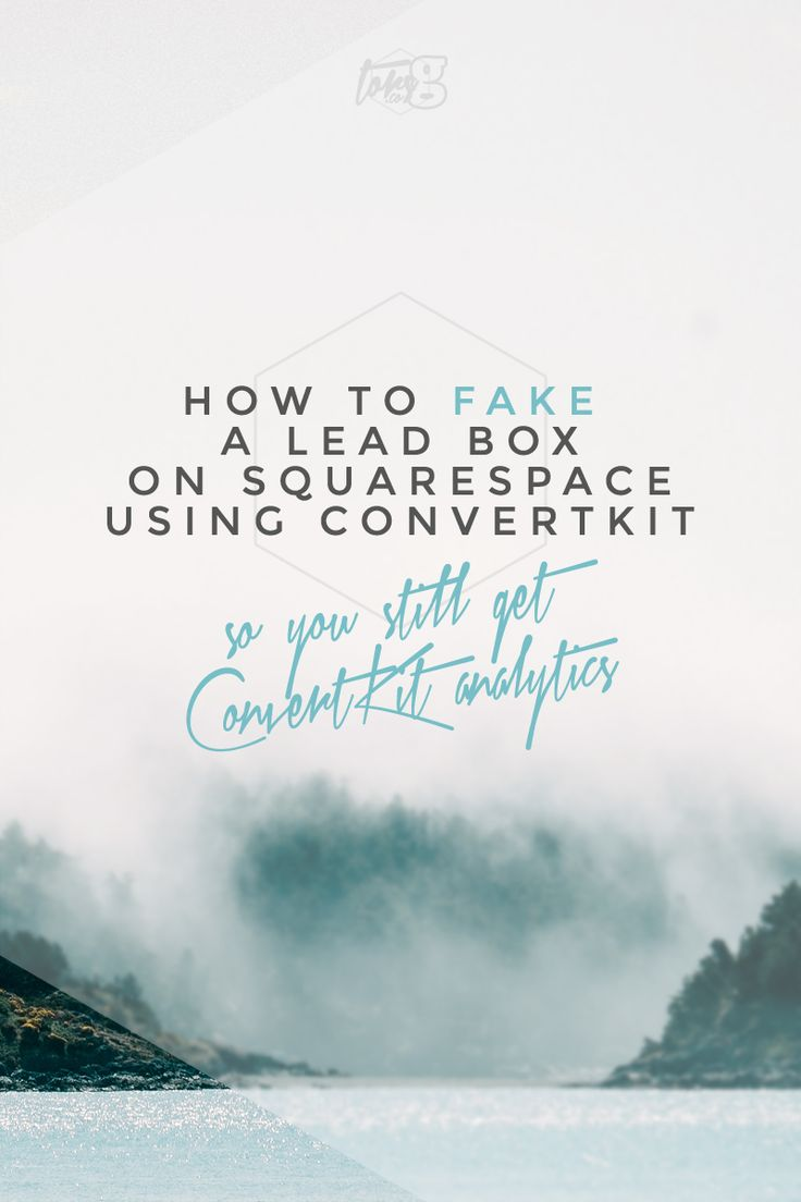How to fake a LeadBox on Squarespace using ConvertKit — Tors G
