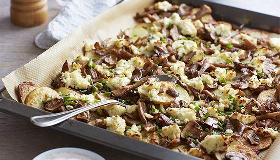 aardappels uit de oven met boursin