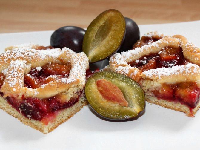 Szilvás pite recept