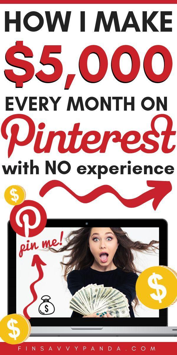 Wussten Sie, dass Sie mit Pinterest online Geld ve…