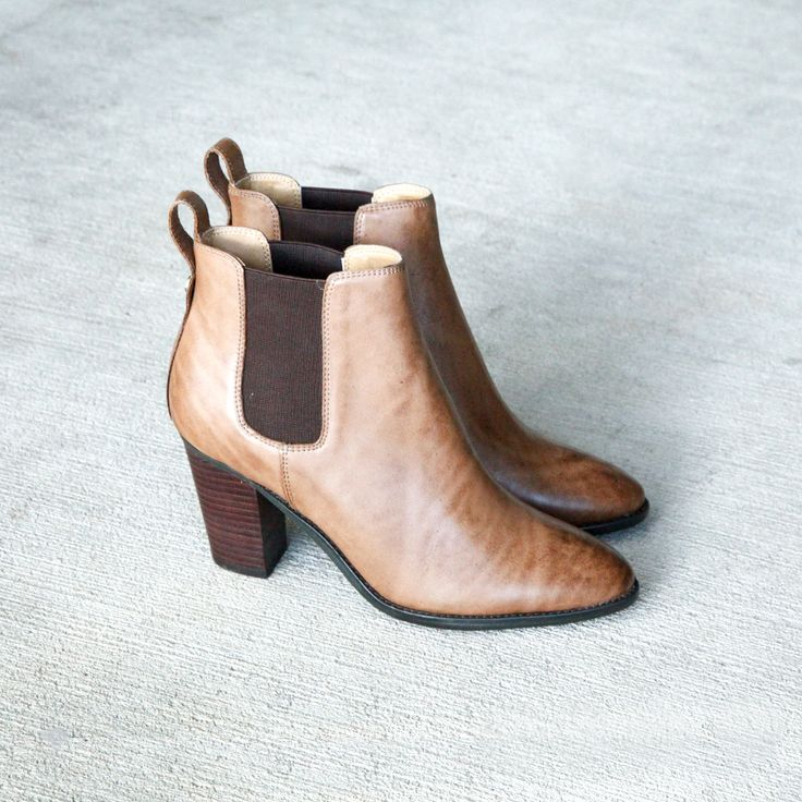 Maddison by Tony Bianco | A real VIP, wait we mean VIB! This lush leather style is a heightened take on the iconic Chelsea boot. Team with denim jeans or pants for an easy weekend look. Available at Styletread | Neutral Ankle Boot | Tan Leather Boot