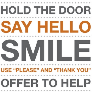 THIS. I'm always like this. I usually hold the door but when someone doesn't say thank you I will FUME. i didn't have to hold it for you. I've been smiling a lot more, though people think i'm crazy but since when do I care? be kind. always. <3