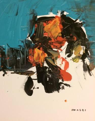 "Saatchi Art Artist Masri Hayssam; Painting, ""Portrait-A17"" #art"