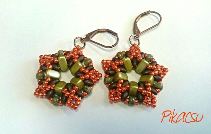 #eMMičky #Náušnice #eMMA #beads #earring