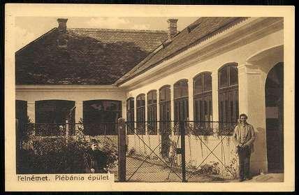 1916. Felnémet, Plébánia épület | Képcsarnok | Hungaricana