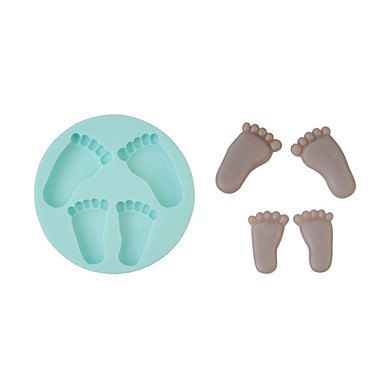 Foot Shape Silicone Mould Cake Decorating Baking Tool by RUSTIKOcakeDecoratio on Etsy