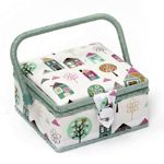 Sewing Basket: Square Sewing Box, Home