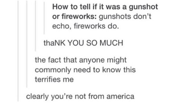 Seriously needed to know this a few weeks ago. Honestly thought someone was shooting a gun until the last spurt at the end.