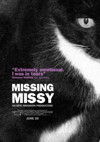 The Passive-Aggressive Lost Cat Poster. Love this.