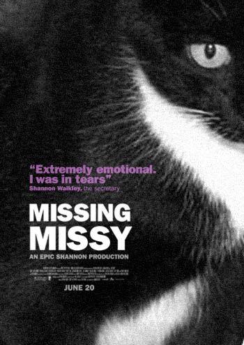 The Passive-Aggressive Lost Cat Poster. Love this.