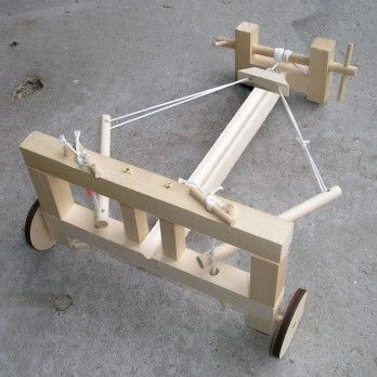 mangonel catapult made with popsicle sticks. ballista wood kit made from high quality knot free basswood, this is a great mangonel catapult with popsicle sticks