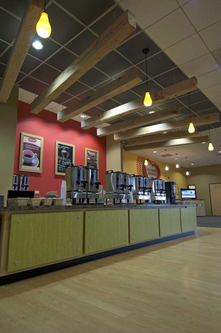 Coffee service.  Geneva, IL #lobby #church