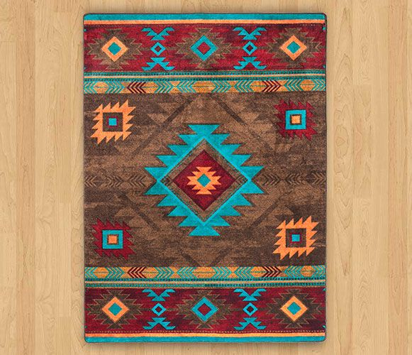Southwest Rugs Whiskey River Turquoise Rug Collection: 32 Best Rugs Images On Pinterest
