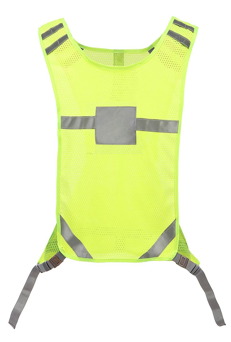 360 USA - Reflective Cycling Vest - Neon Yellow. #1 Best seller of Reflective Cycling Vest. Lightweight, breathable mesh. Adjustable side straps, One size fits all - Neon Yellow. Meets ANSI 107-2015 Class 2. Rear gear pocket with zipper closure. High visibility 3M Scotchlite. 360usaproducts.