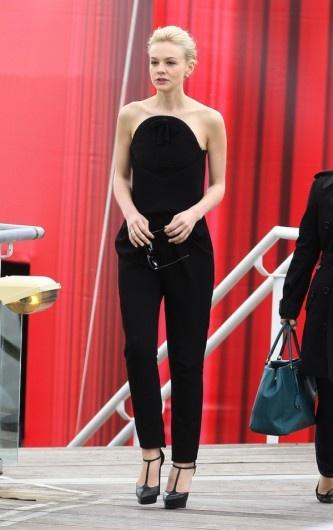 Carey Mulligan in Balenciaga voorjaar 2013.