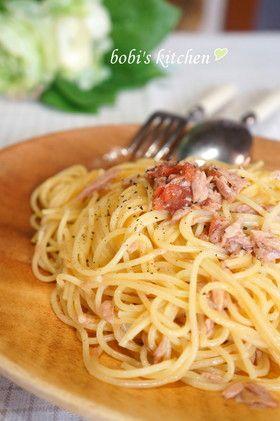 あえるだけ✿ ツナと梅のパスタ✿  by bobitin [クックパッド] 簡単おいしいみんなのレシピが257万品