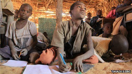 It will be more than 70 years before all children have access to primary school, says a report from the United Nations Educational, Scientific and Cultural Organisation (Unesco) - Gounaka village, Tessaoua, Niger