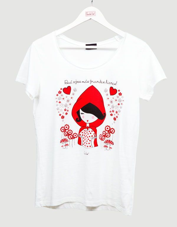 Preciosas camisetas con mensaje e ilustraciones Trendy tshirts