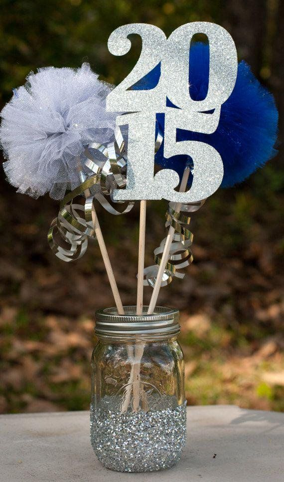 How do it on graduation party centerpieces party for Athletic banquet decoration ideas