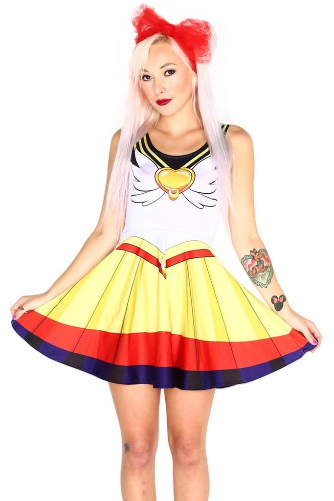 Sexy Sailor Moon Close-Fitting Dresses