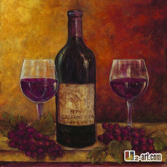 Abstract wine bottle and wine glass painting google for Wine paint party