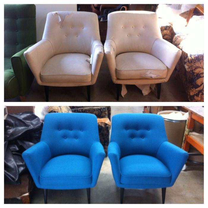 Italian armchairs